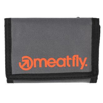 Novčanik MEATFLY - Vega - siva, narančasta, MEATFLY