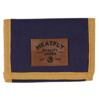 Novčanik MEATFLY - Jules - plava, smeđa, zelena, MEATFLY