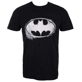 Filmska muška majica Batman - LOGO MONO DISTRESSED - LIVE NATION, LIVE NATION