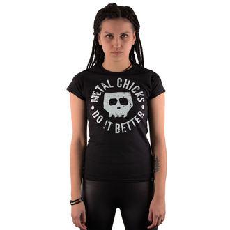 Majica ženska METAL CHICKS DO IT BETTER - Skull, METAL CHICKS DO IT BETTER