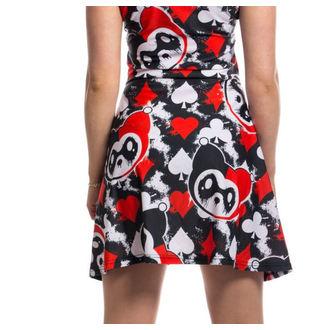 Haljina ženska KILLER PANDA - CARD - BLACK / RED, KILLER PANDA