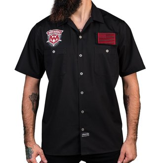 Muška košulja WORNSTAR - Chicago Skull - Black, WORNSTAR