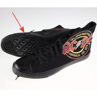 Muške visoke tenisice AC-DC - Sneakers - FBI., F.B.I., AC-DC