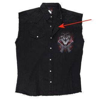 Košulja bez rukava muška SPIRAL - Street Reaper - Black - OŠTEĆENO, SPIRAL