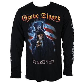 Majica metal muška Grave Digger - UNCLE SAM 2016 - Just Say Rock, Just Say Rock, Grave Digger
