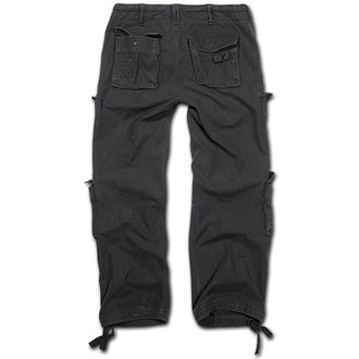 hlače muške BRANDIT - Čist Vintage Nogavica Crno, BRANDIT