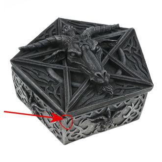 kutija (Ukras) Baphomets riznica - NENOW - D1802E5 - OŠTEĆENO