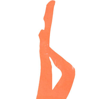Najlonke LEGWEAR - signature 70 denier coloured soft opaque tight - neon orange, LEGWEAR