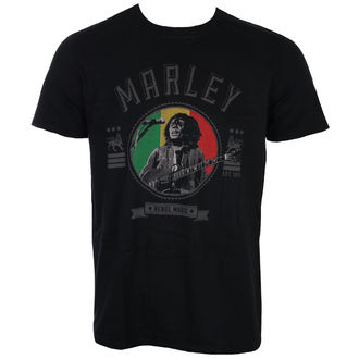 Majica metal muška Bob Marley - Rebel Music - ROCK OFF, ROCK OFF, Bob Marley