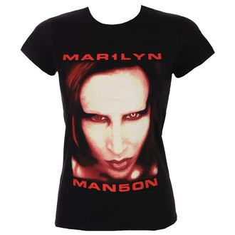 Majica metal ženska Marilyn Manson - Bigger Than Satan - ROCK OFF, ROCK OFF, Marilyn Manson