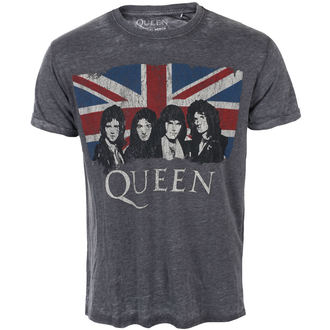 Majica metal muška Queen - Vintage Union Jack - ROCK OFF