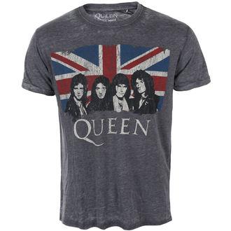 Majica metal muška Queen - Vintage Union Jack - ROCK OFF, ROCK OFF, Queen