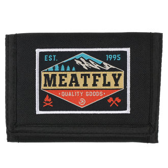 Novčanik MEATFLY - Gimp - Black, Tirkiz, MEATFLY