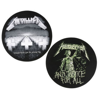 Gramofon podmetač - 2 komada - Metallica - RAZAMATAZ, RAZAMATAZ, Metallica