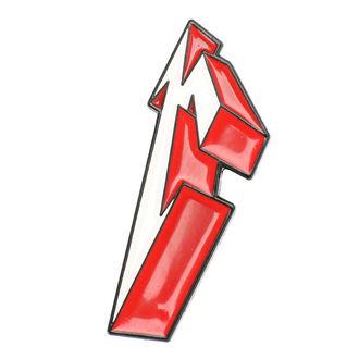 Značka Metallica - 3D M, Metallica