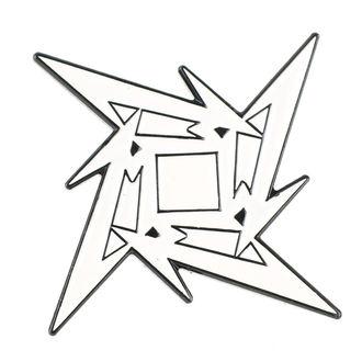 Metallica značka - Ninja Star, Metallica