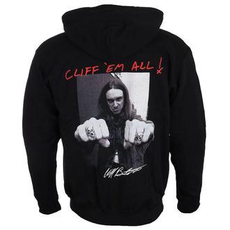 Majica s kapuljačom muška Metallica - Cliff Burton -, Metallica