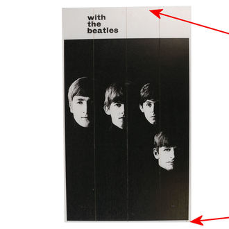 Drvena slika The  Beatles - A Hard Days Night - PYRAMID POSTERS - OŠTEĆENO, PYRAMID POSTERS, Beatles
