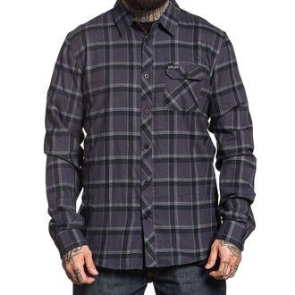 Muška košulja SULLEN - GUNMETAL - BLACK / ŽELJEZO, SULLEN