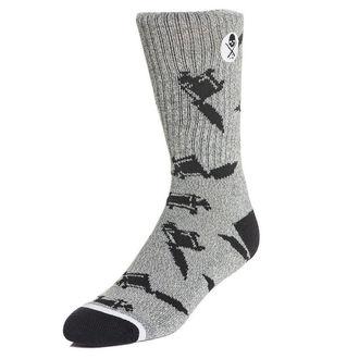Čarape SULLEN - MACHINED - SIVA, SULLEN