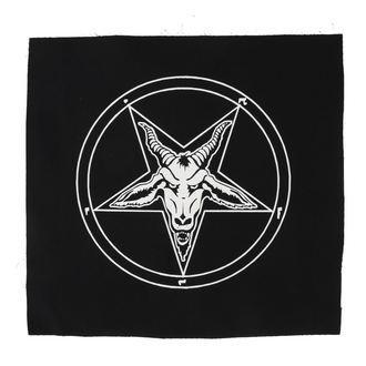 Velika zakrpa BAFOMETU - pentagram
