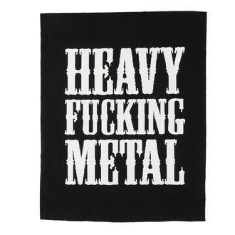 Velika zakrpa Heavy fucking metal