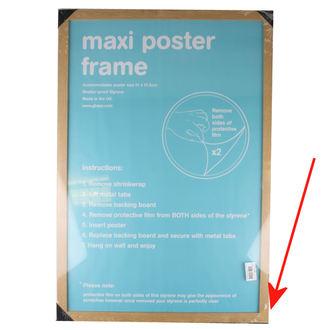 okvir za poster (61x91,5 cm) - Oak - GB Posters - OŠTEĆENO
