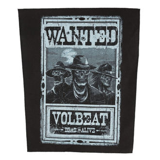 Zakrpa VOLBEAT - WANTED - ROCK OFF, ROCK OFF, Volbeat