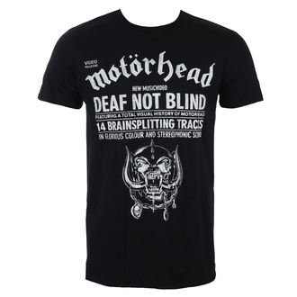 Muška metal majica Motörhead - Deaf Not Blind - ROCK OFF, ROCK OFF, Motörhead