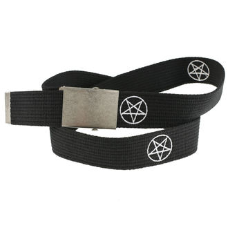 Pojas Pentagram, BLACK & METAL