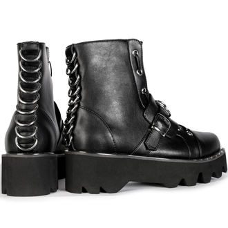Ženske wedge čizme - BUCKLE - DISTURBIA, DISTURBIA