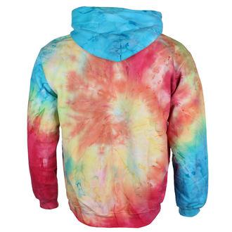 Unisex majica s kapuljačom Jimi Hendrix - AUTHENTIC TYE DIE SWIRL - BRAVADO, BRAVADO, Jimi Hendrix