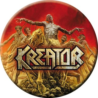 Bedž KREATOR - Phantom antichrist - NUCLEAR BLAST, NUCLEAR BLAST, Kreator