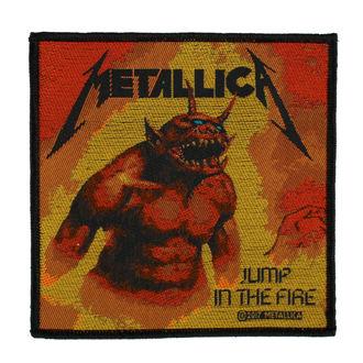 Zakrpa METALLICA - JUMP IN THE FIRE - RAZAMATAZ, RAZAMATAZ, Metallica