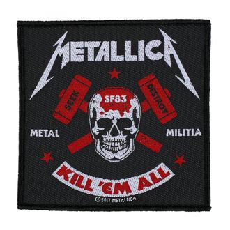 Zakrpa METALLICA - METAL MILITIA - RAZAMATAZ, RAZAMATAZ, Metallica