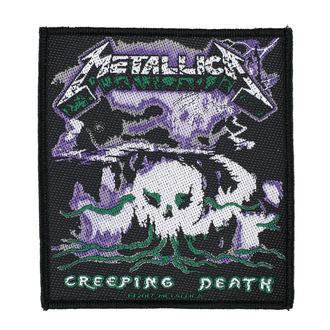 Zakrpa METALLICA - CREEPING DEATH - RAZAMATAZ, RAZAMATAZ, Metallica
