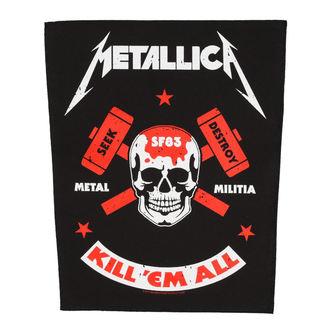 Velika zakrpa METALLICA - METAL MILITIA - RAZAMATAZ, RAZAMATAZ, Metallica