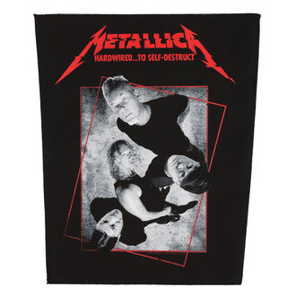 Velika zakrpa METALLICA - HARDWIRED CONCRETE - RAZAMATAZ, RAZAMATAZ, Metallica