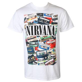 Muška metal majica Nirvana - CASSETTES - PLASTIC HEAD, PLASTIC HEAD, Nirvana