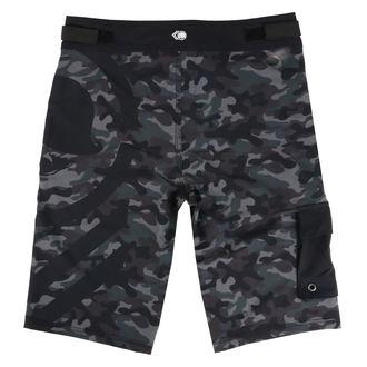 Muške kratke hlače (kupaći) METAL MULISHA - SNARE - BLK, METAL MULISHA