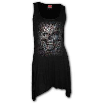 Ženska haljina SPIRAL - SKULL ILLUSION, SPIRAL