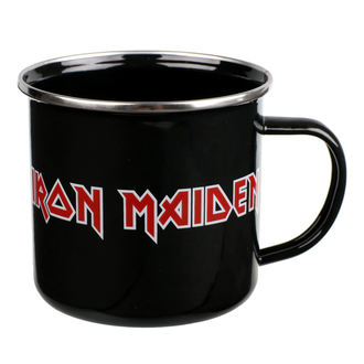 Emajl šalica Iron Maiden - Logo, NNM, Iron Maiden