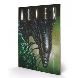 Drvena slika Alien - (odvratna osoba) - PYRAMID POSTERS, PYRAMID POSTERS, Alien - Vetřelec