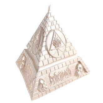 Svijeća BEHEMOTH - UNHOLY TRINITY PYRAMID - BRASS - PLASTIC HEAD, PLASTIC HEAD, Behemoth