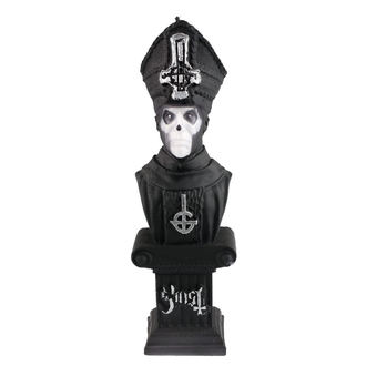 Svijeća GHOST - PAPA EMERITUS - BLACK MATT - PLASTIC HEAD, PLASTIC HEAD, Ghost