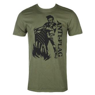 Muška metal majica Anti-Flag - Flag Burner Green - KINGS ROAD, KINGS ROAD, Anti-Flag