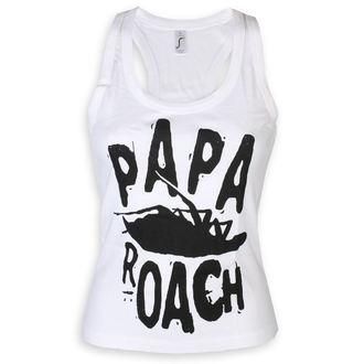 Ženska majica Papa Roach - Classic Logo - White - KINGS ROAD, KINGS ROAD, Papa Roach