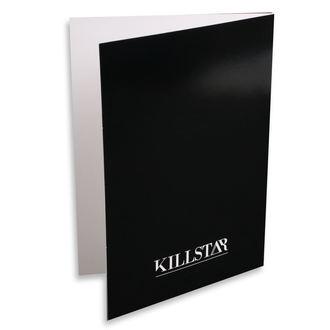 Čestitka KILLSTAR - Pisces - BLACK, KILLSTAR