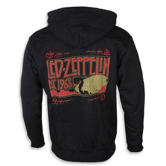 Muška majica s kapuljačom Led Zeppelin - Zeppelin & Smoke Black - NNM, NNM, Led Zeppelin