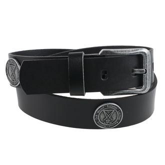 Pojas Luciferi - Black, Leather & Steel Fashion